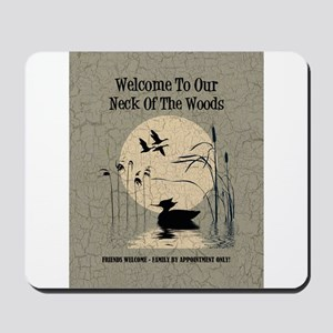 WELCOME TO OUR... Mousepad