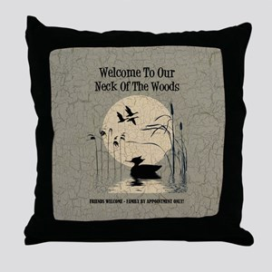 WELCOME TO OUR... Throw Pillow