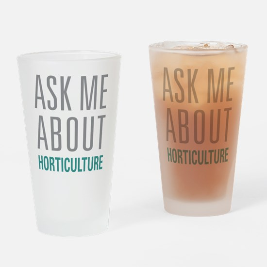 Horticulture Drinking Glass
