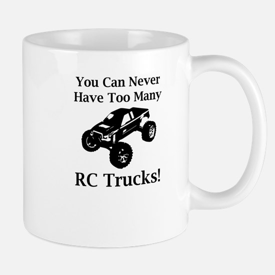 Too Many RC Trucks! Mug