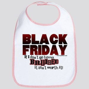 Black Friday Bruised Bib