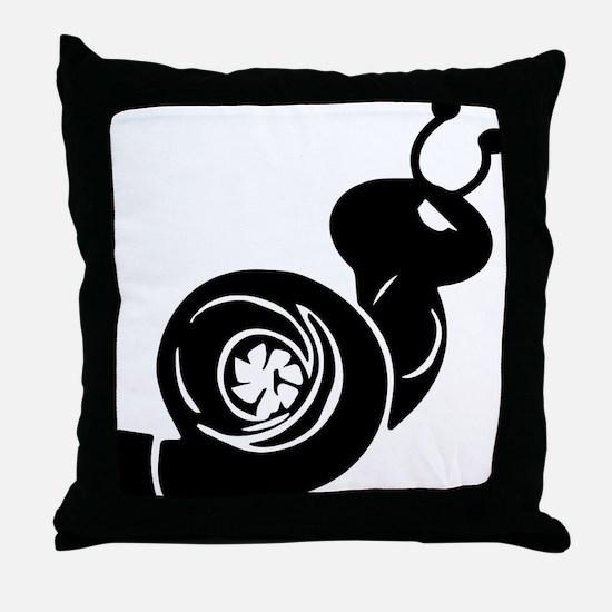 Turbo Throw Pillow