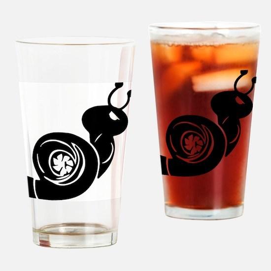 Cute Turbo Drinking Glass