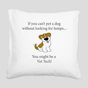 Doglumplt Square Canvas Pillow