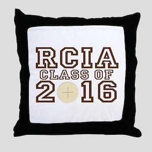 RCIA Class of 2016 Throw Pillow