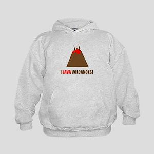 Funny volcanoes Hoodie