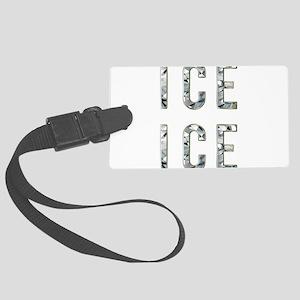 Ice Ice Baby Large Luggage Tag