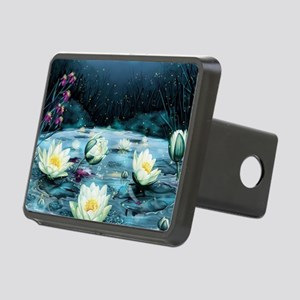 Lotus Pond Rectangular Hitch Cover