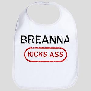 BREANNA kicks ass Bib
