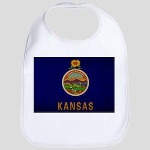Kansas State Flag VINTAGE Bib