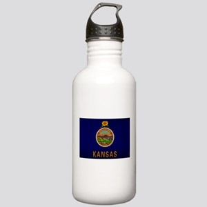 Kansas State Flag VINTAGE Water Bottle