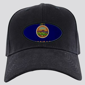 Kansas State Flag VINTAGE Baseball Hat