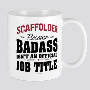 Badass Scaffolder Mugs