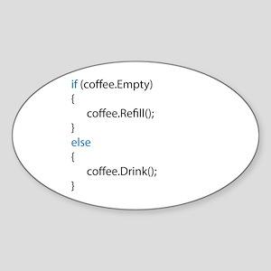 Everyone needs coffee Sticker