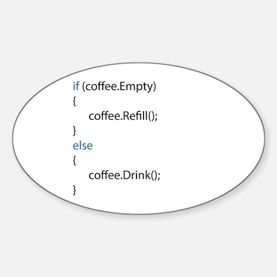 Everyone needs coffee Decal