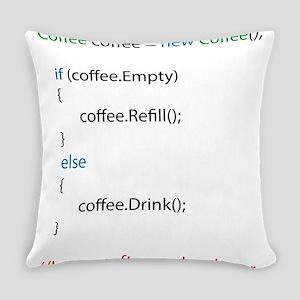 Everyone needs coffee Everyday Pillow