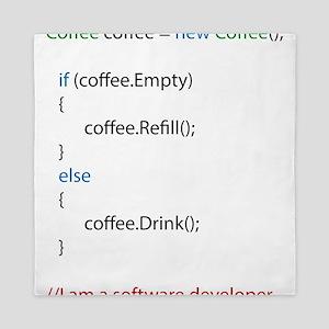 Everyone needs coffee Queen Duvet
