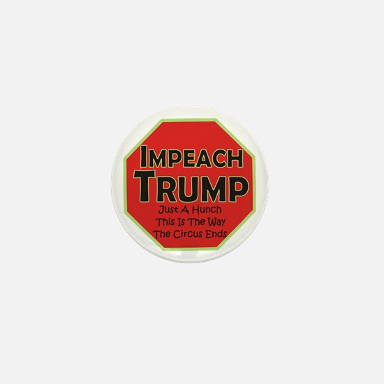 Impeach Trump Mini Button