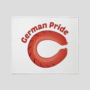 German Pride Throw Blanket