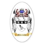 Mikulanda Sticker (Oval)