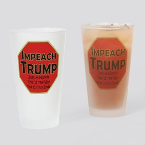 Impeach Trump Drinking Glass