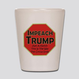 Impeach Trump Shot Glass
