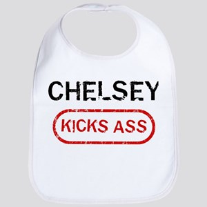 CHELSEY kicks ass Bib