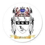 Mikula Round Car Magnet