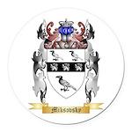 Miksovsky Round Car Magnet