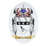 Miksovsky Oval Ornament