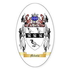 Mikota Sticker (Oval 10 pk)
