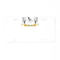 Mikota Aluminum License Plate