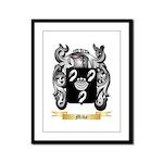 Miko Framed Panel Print