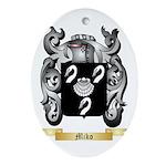 Miko Oval Ornament