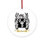 Miko Round Ornament