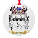 Miklos Round Ornament