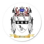 Miklos Round Car Magnet