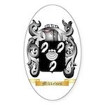 Mikkelsen Sticker (Oval 50 pk)