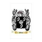 Mikic Sticker (Rectangle 50 pk)