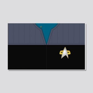 Star Trek DS9 Sci Chief PO 20x12 Wall Decal