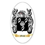 Mikhl Sticker (Oval 50 pk)
