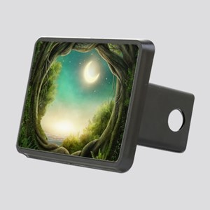 Magic Moon Tree Rectangular Hitch Cover
