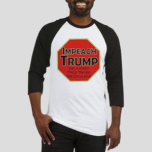 Impeach Trump Baseball Jersey