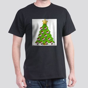 Monster Christmas Tree T-Shirt