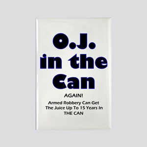 OJ in the Can Rectangle Magnet