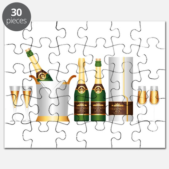 champagne bottle Puzzle