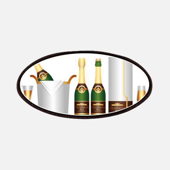 champagne bottle Patch