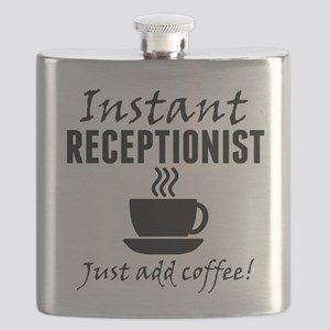 Instant Receptionist Just Add Coffee Flask