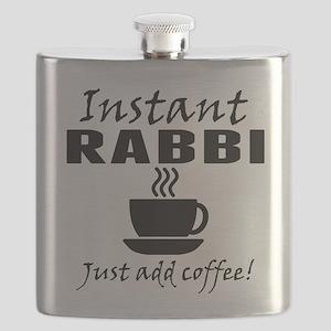 Instant Rabbi Just Add Coffee Flask