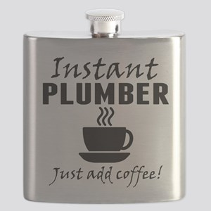 Instant Plumber Just Add Coffee Flask